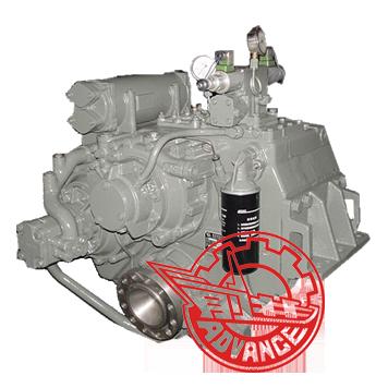 HCAM500 avance marina de caja de cambios(10Ángulo de Down °)