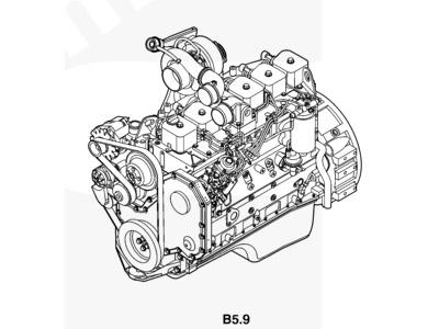 Cummins B210 33 SO11907E Parts Catalogue