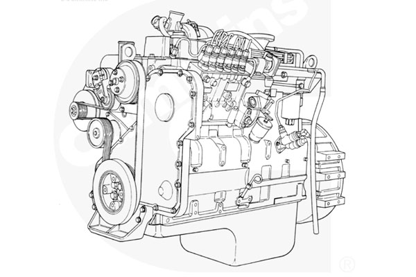 Cummins 6CTA8.3-M205 SO20747 Parts Catalogue