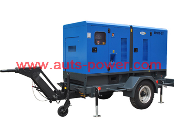 Cummins Trailer Diesel Generator Set