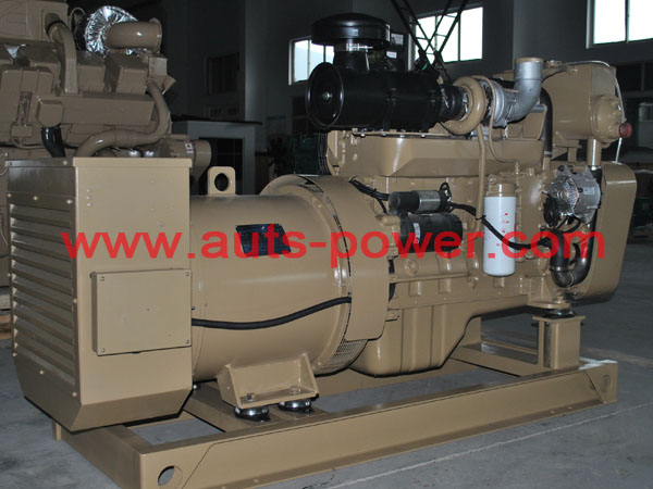 الكمون مجموعة مولدات 150KW البحرية