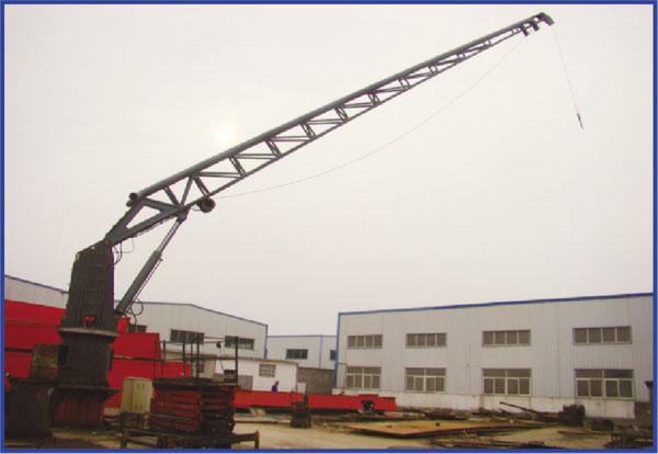Marine Flow Boom Crane