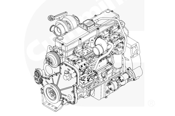 Cummins ISLe350 30 SO60011 каталог запчастей