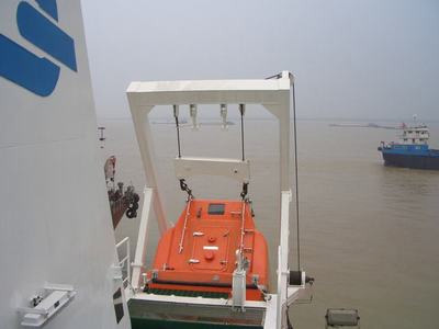 Marine Electric lifeboat winch