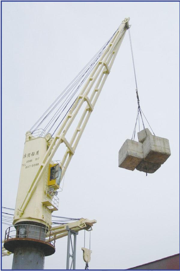 Морские провода Luffing кран