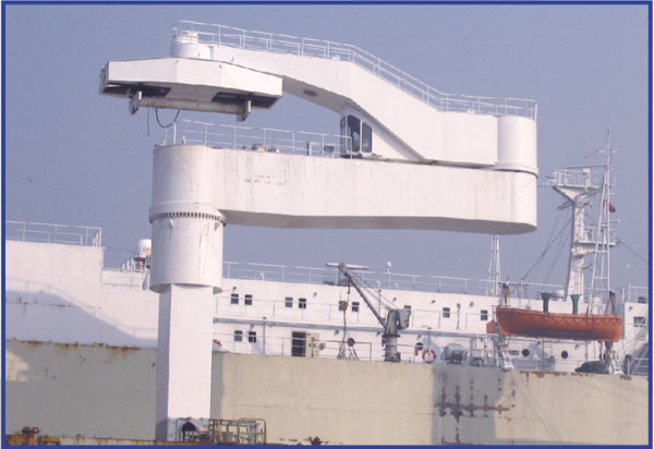 Marine Cantilever Crane