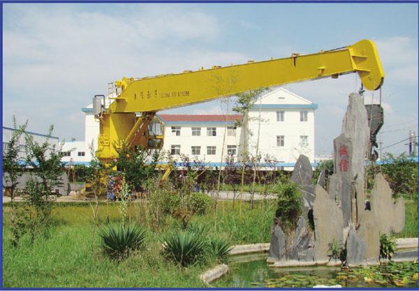 Marine Cylinder Luffing Crane